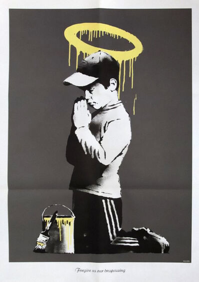 Banksy, ''Forgive us our Trespassing', 2010', 2010