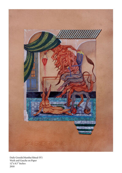Yogesh Ramakrishna, 'Dinakrama - IV', 2018