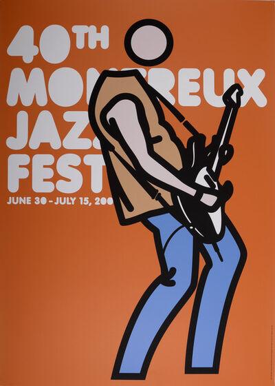 Julian Opie, 'Montreux Jazz Festival, 2006', 2006