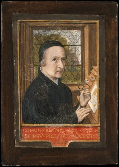 Simon Bening, 'Self-portrait', 1558