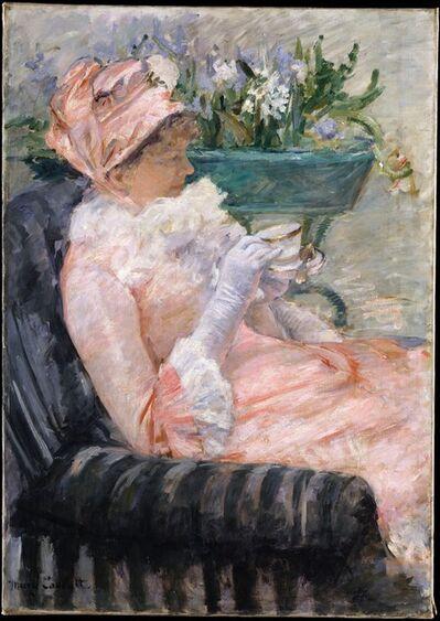Mary Cassatt, 'The Cup of Tea', ca. 1880–1881