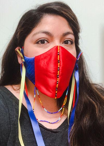 Sarah Tonemah, 'Not Your Mask-cot!', 2020