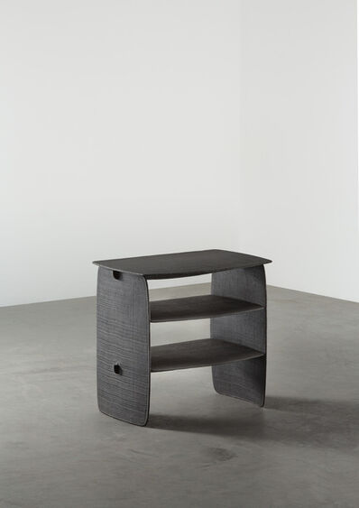 Aki and Arnaud Cooren, 'Tiss-Tiss Bedside Table Black Pair', 2019