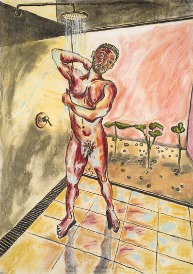 Christabel MacGreevy, 'Man in the Shower Somewhere Hot III', 2019