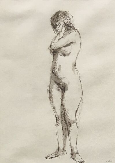 Alvin Ross, 'Standing Female Nude', Mid 20th c.