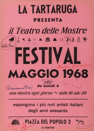 Il Teatro delle Mostre, 'Festival Maggio 1968'