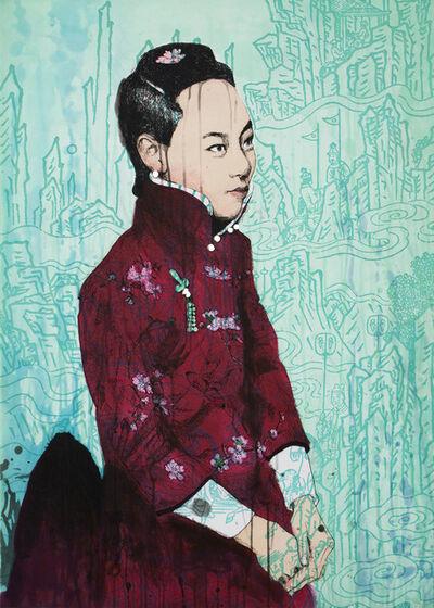 Hung Liu, 'Shan -Mountain', 2012