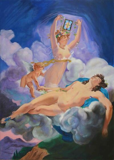 Alberto Passolini, 'El dia (Aurora y Céfalo)', 2009
