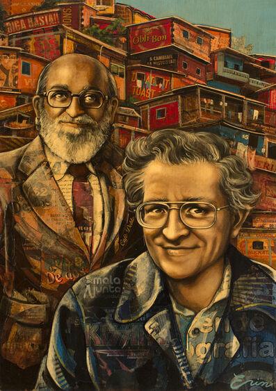 Erin Currier, 'Noam Chomsky & Paolo Freire'