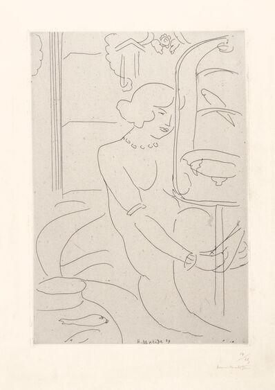 Henri Matisse, 'La cage de Perruches et les Poissons Rouges', 1929