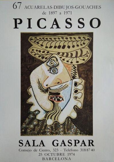 Pablo Picasso, 'Sala Gaspar: 67 acuarelas - dibujos - gouaches de 1897 a 1971', 1974