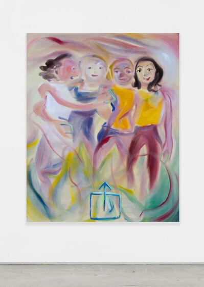 Sophie von Hellermann, 'What's Up Group', 2018