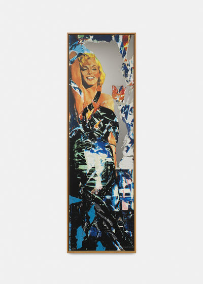 Mimmo Rotella, 'Marilyn', 2004