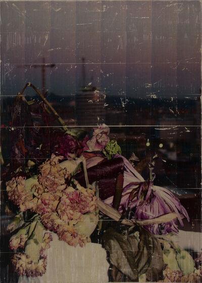 Parker Ito, 'Capitol Records Shit Toots (dead bouquet w/ crane)', 2016