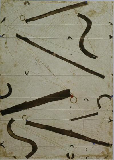 Caio Fonseca, 'Seven String Etching no. 10', 2001