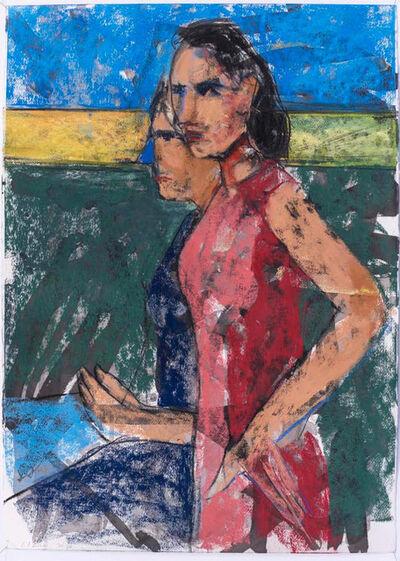 Daniel Clarke (b. 1971), 'Two Figures  ', 2020