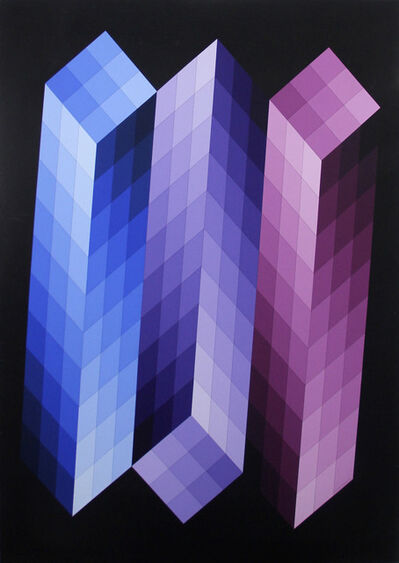 Victor Vasarely, 'Tsoda', 1968