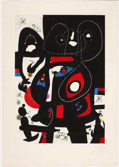 Joan Miró, 'La métamorphose', 1978