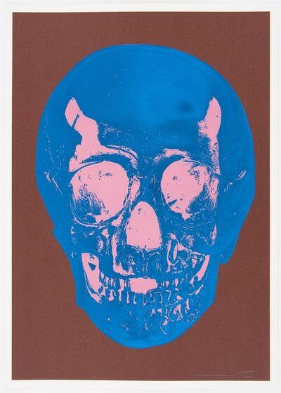Damien Hirst, 'Milk Chocolate Brown True Blue Bubblegum Pink Skull ', 2012