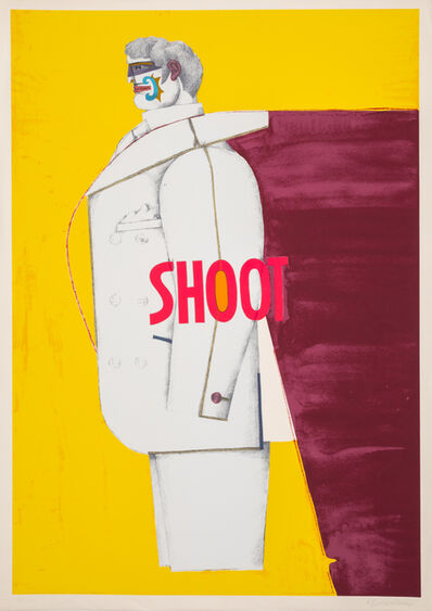 Richard Lindner, 'A Group of Ten Works from Shoot', 1971