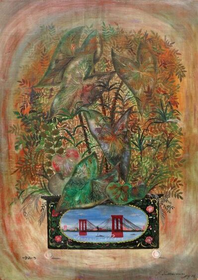 Friedrich Berzeviczy-Pallavicini, 'Souvenir to Fleur', 1956