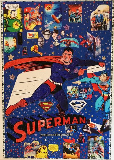 DJ Leon, 'Superman Collage', 2018
