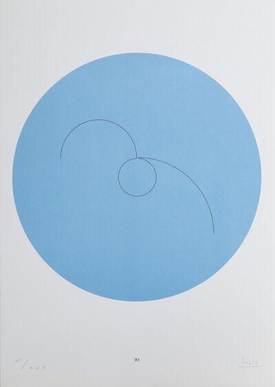 Max Bill, 'Constellations XI', 1974