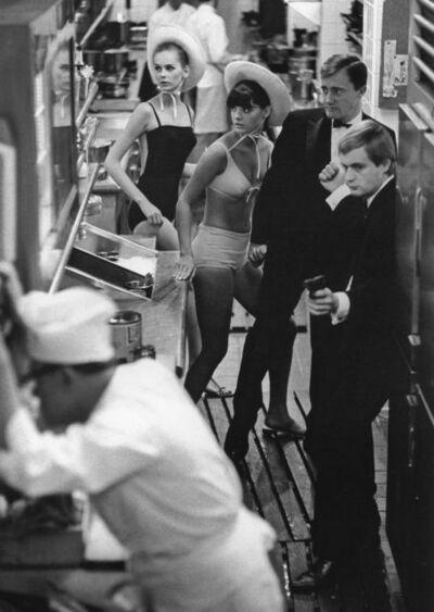 Jerry Schatzberg, 'Fashion in the Kitchen: Agneta Freiberg, Katherine Carpenter, Robert Vaughn, and David McCallum', 1965