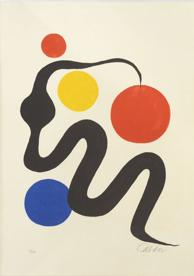 Alexander Calder, 'Composition - Le Serpent', ca. 1965