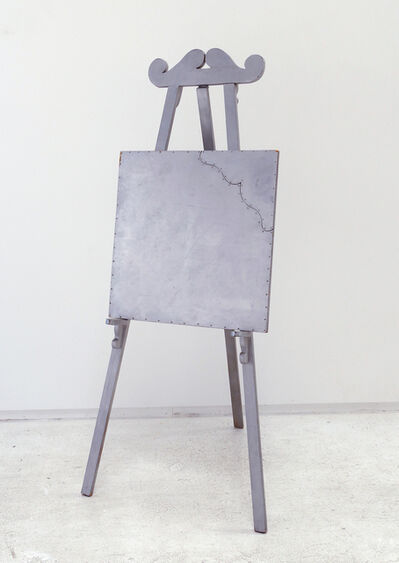 William T. Wiley, 'Silver Easel & Picture', 1965