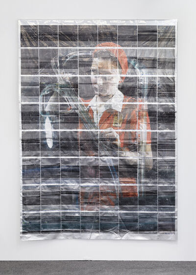 Servane Mary, 'Untited (Woman With a Red Dress)', 2014