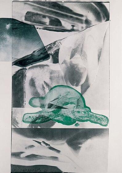 Robert Rauschenberg, 'Gulf', 1969