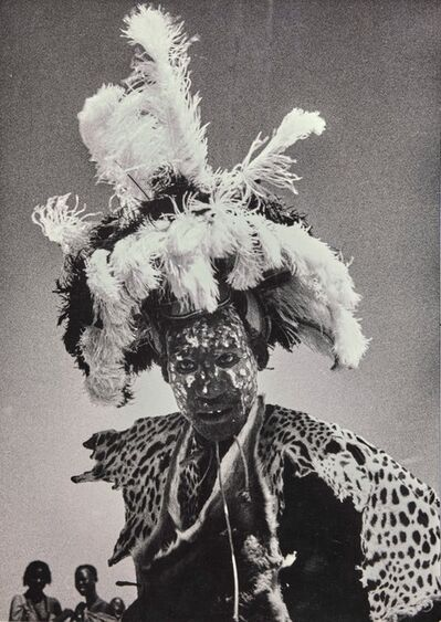 George Rodger, 'Guerrie ougandais', 1958