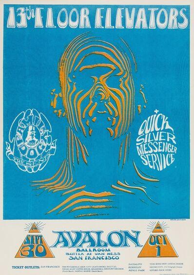 Stanley Mouse, '13th Floor Elevators: a rare U.S. concert poster', 1966