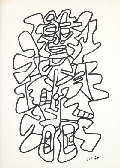Jean Dubuffet, 'Coucou Bazar Bal de l'Hourloupe: An Animated Painting', 1973