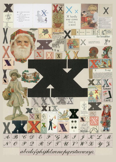 Peter Blake, 'The Letter X', 2007
