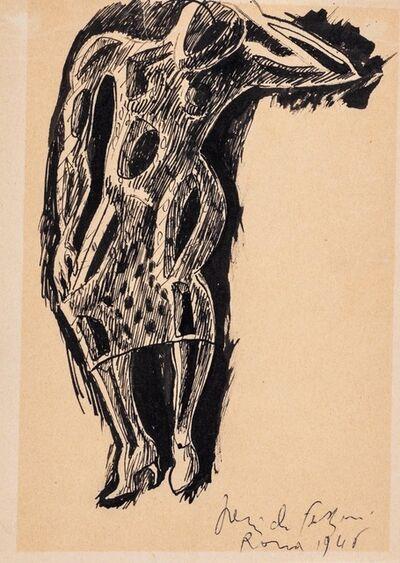 Pericle Fazzini, 'Woman', 1946