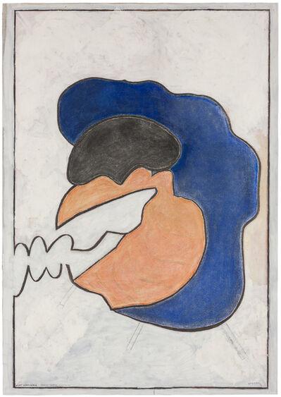 "Kurt Hüpfner, 'Portrait ""Murphy"" Richard Reiter', 1966"