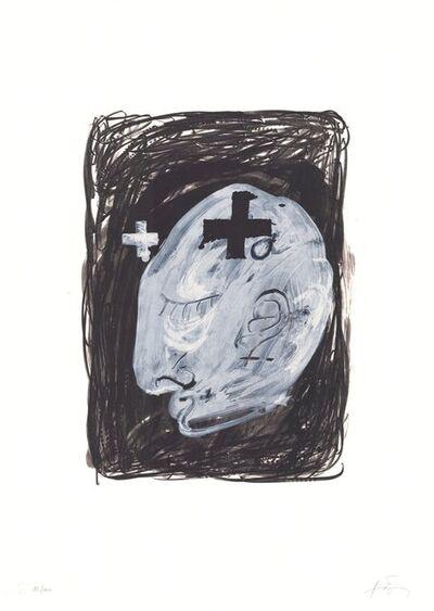 Antoni Tàpies, 'Profil', 1980-1990