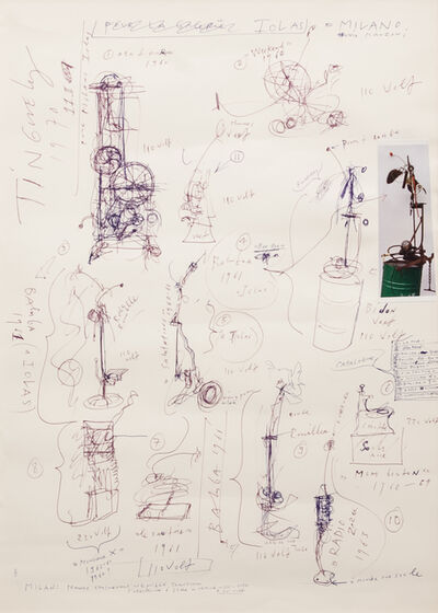 Jean Tinguely, 'Untitled', 1970