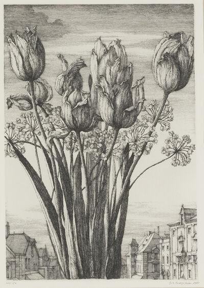 Erik Desmazières, 'Tulipes', 1983