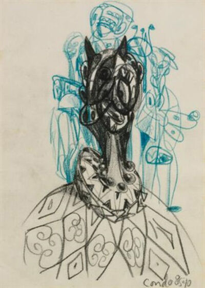 George Condo, 'Untitled', 1985-1986