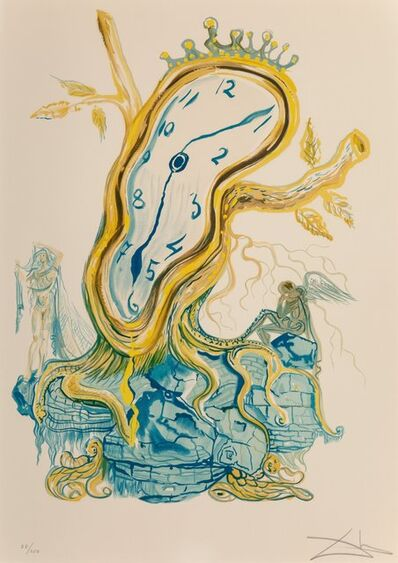 Salvador Dalí, 'Stillness of Time, from Time', 1976