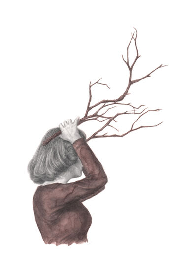 Rachel Goodyear, 'Antlers', 2021