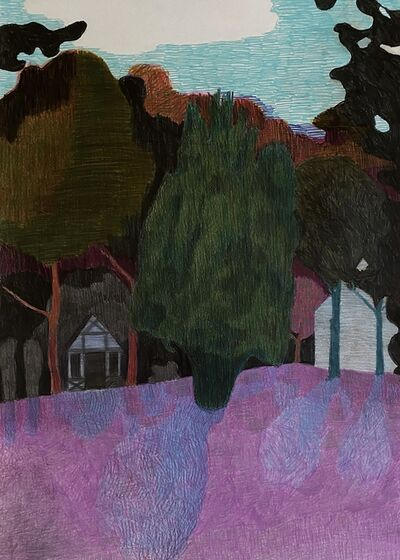 Per Adolfsen, 'The Tree and the Play House', 2020