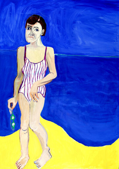 Lucy Jones, 'Going Swimming', 1997