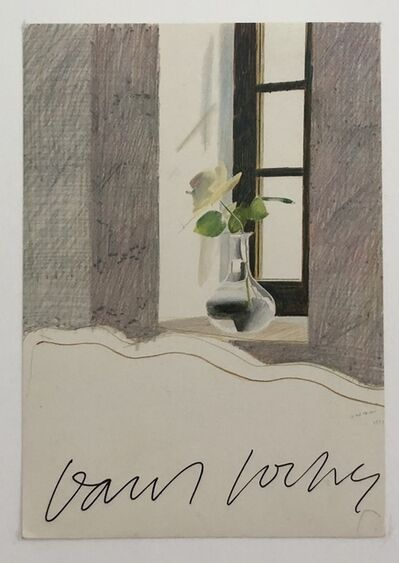 David Hockney, 'Hand Signed 'Le Nid Du Duc'', 1981