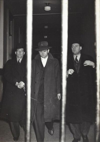 Weegee, 'Suspect Taken to Jail', ca. 1940