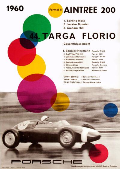 Anonymous, 'PORSCHE - 1960 44. TARGA FLORIO', 1960