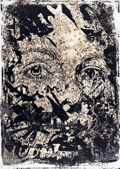 Vhils, 'Intangible', 2018